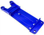 Hot Racing Blue Aluminum Rear Tie Bar Pin Mount for Traxxas X-Maxx 6S & 8S
