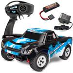 LaTrax 1/18 Desert Prerunner 4WD Electric RTR RC Truck w/Blue Body
