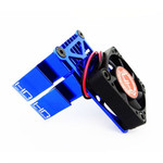 Hot Racing Heat Sink Cooling Fan (Blue) for Rustler, Stampede, Slash