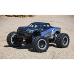 Pro-Line X-Maxx Badlands MX43 Pre-Mounted on Pro-Loc Impulse Black/Grey Wheels