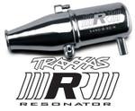 Traxxas Revo 2.5 & 3.3 Resonator Tuned Pipe