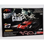 AFX Super Cars Mega G+ HO Slot Car Set w/Tri-Power Module