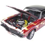 Auto World 1:18 Diecast 1969 Chevrolet Chevelle SS396 Hardtop (Hot Rod Magazine)