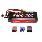 Venom DRIVE 20C 3S 5400mAh 11.1V LiPo w/UNI 2.0 Plug
