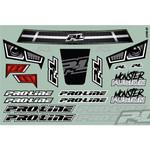 Pro-Line Pre-Cut Monster Fusion Body for Slash 2WD & 4x4