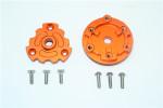 GPM Orange Aluminum Cush Drive Housing for E-Revo 2.0 & X-Maxx 8S