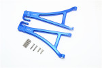 GPM Blue Aluminum Front Lower Suspension Arms for E-Revo 2.0