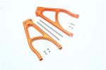 GPM Orange Aluminum Rear Upper Suspension Arms for E-Revo 2.0