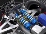 GPM Gunmetal Aluminum Shocks w/3 Spring Sets for 1/16 E-Revo Summit Slash