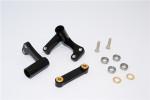 GPM Black Aluminum Steering Bellcranks for 2WD Rustler Slash Bandit
