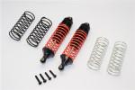 GPM Black Aluminum Rear Shocks for 4x4 Slash Rustler Stampede