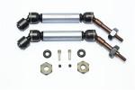 GPM Gunmetal Steel & Aluminum Rear CVD Driveshaft Set w/Hex for 4x4 Slash Rustler Stampede Rally & 2WD Slash