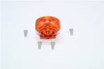 GPM Orange Aluminum Front/Rear Diff Carrier for TRX-4