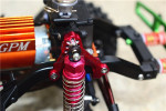 GPM Black Aluminum Adjustable Front Shock Tower Mounts for TRX-4