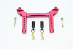 GPM Red Aluminum Front Body Mount Post Set for TRX-4
