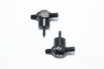 GPM Black Aluminum Spare Tire Locking Nuts for UDR