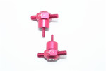 GPM Red Aluminum Spare Tire Locking Nuts for UDR