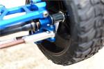 GPM Blue Aluminum 17mm Extension Hubs w/12mm Hex for 4x4 Slash Stampede Rustler