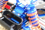 GPM Aluminum Front Gearbox for 4x4 Slash Rustler Stampede (Blue)