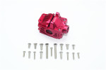 GPM Aluminum Front Gearbox for 4x4 Slash Rustler Stampede (Red)