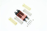 GPM Aluminum Front Adjustable Shocks for 4x4 Slash Rustler Stampede (Black)