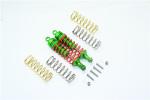 GPM Aluminum Front Adjustable Shocks for 4x4 Slash Rustler Stampede (Green)