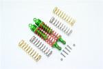 GPM Aluminum Rear Adjustable Shocks for 4x4 Slash Rustler Stampede (Green)