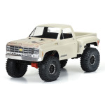 """Pro-Line 1978 Chevy K-10 Clear Body for 12.3"""" WB Scale Crawlers"""