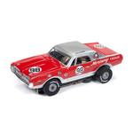 Auto World Thunderjet R24 Trans America 1967 Mercury Cougar - Dan Gurney HO Slot Car
