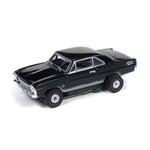 Auto World Thunderjet R25 1966 Chevy Nova SS Black HO Slot Car