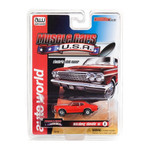 Auto World Thunderjet R25 1970 Chevy Chevelle SS Red HO Slot Car