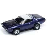 Auto World Xtraction R26 1971 Plymouth Road Runner (Purple) HO Slot Car