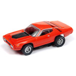 Auto World Xtraction R26 1971 Plymouth Road Runner (Red) HO Slot Car