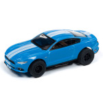 Auto World Xtraction R26 2016 Ford Mustang GT (Blue) HO Slot Car