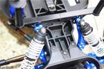GPM Blue Aluminum Front Shock Tower fits 2WD Stampede Rustler Slash Bandit