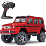 Traxxas TRX-4 Mercedes-Benz G500 RTR Scale & Trail RC Crawler with Red Body