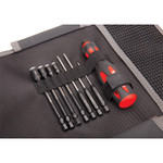 """Traxxas Speed Bit Essentials 7-Pc Hex & Nut Driver Set 1/4"""" Drive with Handle & Pouch (8712)"""