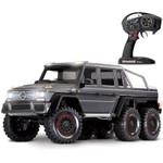Traxxas TRX-6 Mercedes-Benz G63 6x6 Scale & Trail RTR RC Rock Crawler with Silver Body (88096-4)
