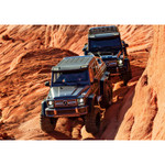 Traxxas TRX-6 Mercedes-Benz G63 6x6 Trucks Driving Through Rocky Path