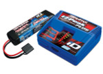 Traxxas EZ-Peak ID Charger & 2S 7600mAh LiPo Battery Completer (2995)
