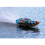 Traxxas Spartan VXL Brushless 6S 50+MPH RC Speed Boat Combo