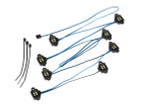 Traxxas TRX-4 & TRX-6 LED Rock Light Kit - Requires 8028 Power Supply & 8018, 8072, or 8080 Inner Fenders (8026X)