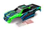 Traxxas Maxx Green Painted Complete Body w/Decals (8911G)