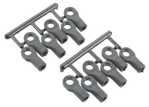 Traxxas TRA5525 Rod Ends : 1//10 Slash 4x4 /& 2wd 12 with Hollow Balls 12