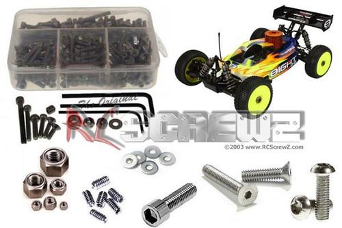 RCZLOS069 RC Screwz Losi 8ight 3.0 RTR Stainless Steel Screw Kit