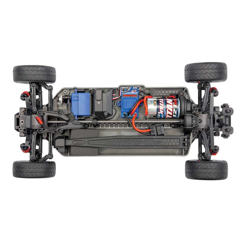 Traxxas 4-Tec 3.0 Factory Five '33 Hot Rod Coupe Chassis Top View