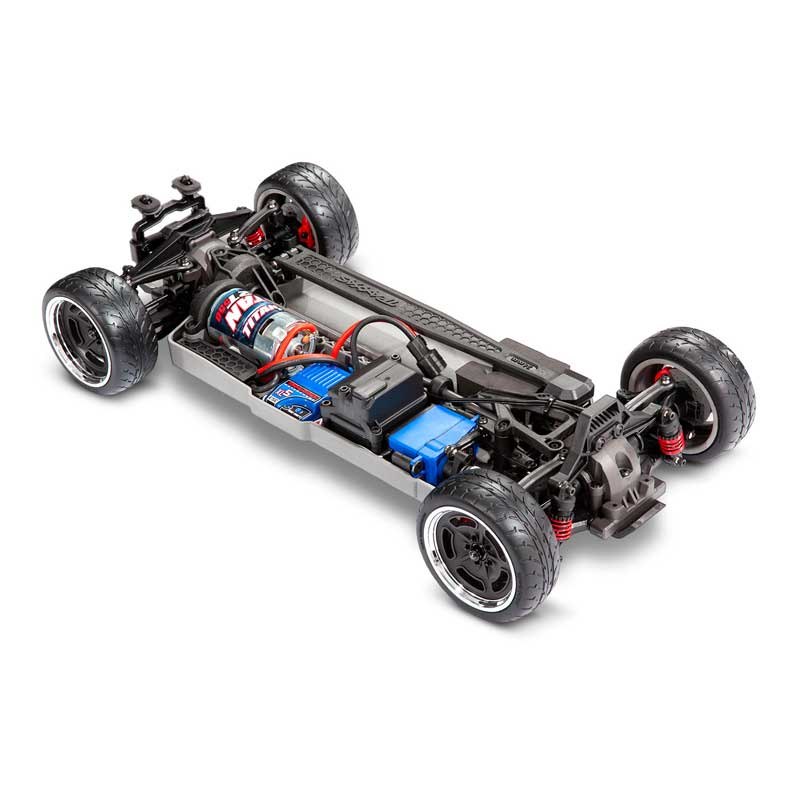 Traxxas 4-Tec 3.0 Factory Five '33 Hot Rod Coupe Chassis Three-Quarter View