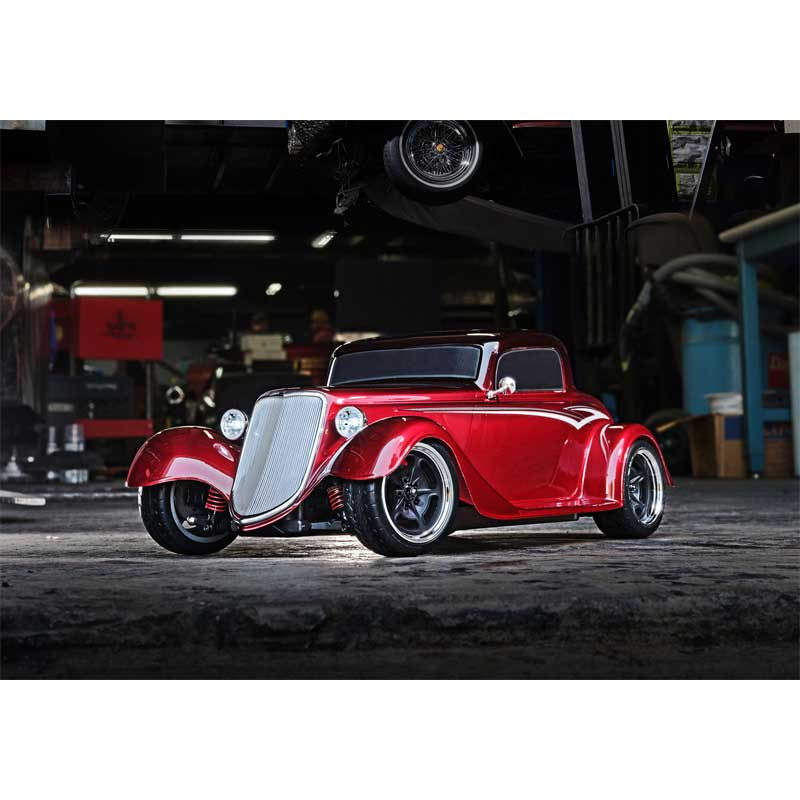 Traxxas 4-Tec 3.0 Factory Five '33 Hot Rod Coupe Red Front View