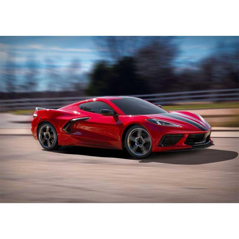 Corvette Stingray Action Red