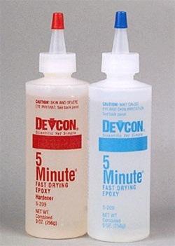 Devcon S-209 5-Minute Epoxy (8.5 oz)